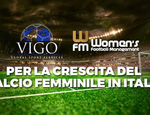 Vigo Global Sport Service e Women's Football Management insieme per la crescita del movimento del calcio femminile in Italia