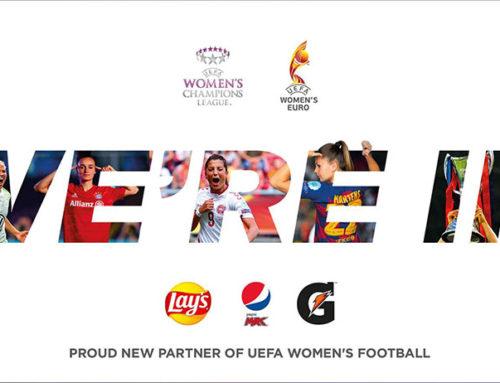 PepsiCo nuovo sponsor ufficiale della UEFA Women's Football