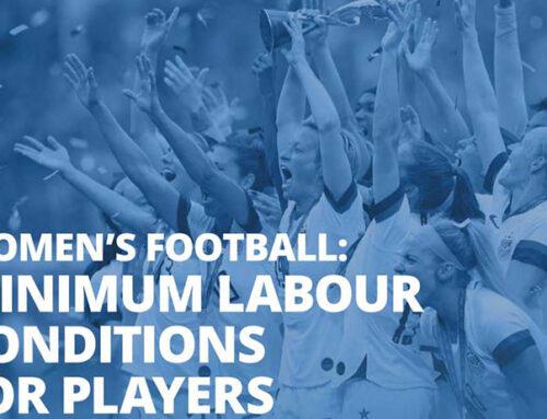 Condizioni minime di lavoro per le calciatrici approvate dalla FIFA