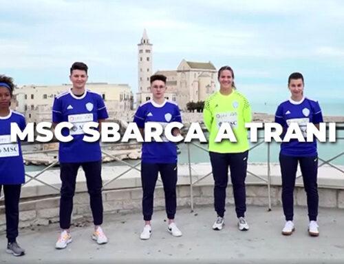 MSC Crociere nuovo sponsor dell'Apulia Trani