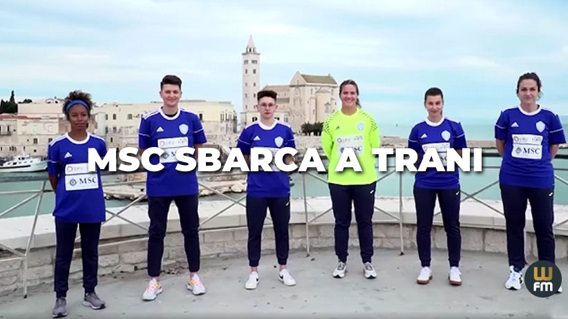 MSC crociere sponsor dell'Apulia Trani