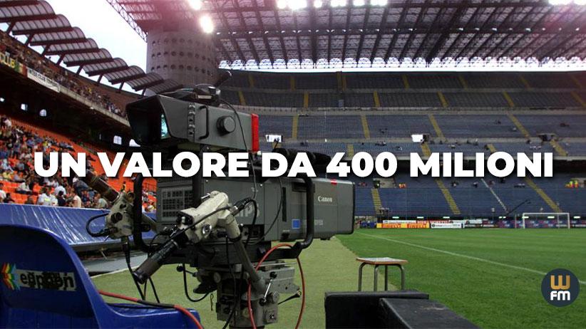 diritti tv da 400 milioni per il calcio femminile