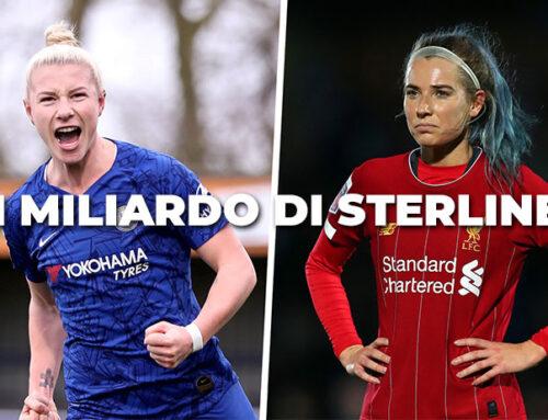 Lo sport femminile inglese vale potenzialmente 1 miliardo di sterline